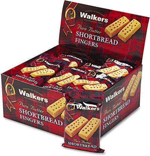 Walker's Shortbread Cookies, 2/Pack, 24 Packs/Box -