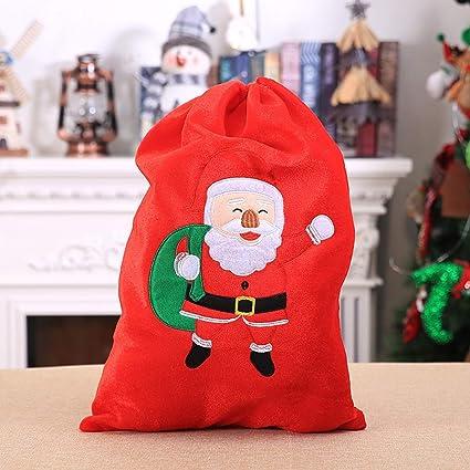 Christmas Gift Bags For Kids.Christmas Gift Bags Santa Claus Kids Candy Present Bags
