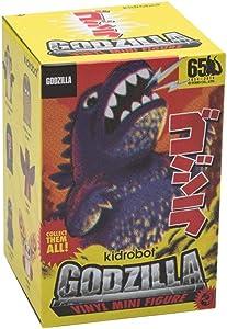 Kidrobot Godzilla Vinyl Figures 8 cm Display (1) Mini Standard
