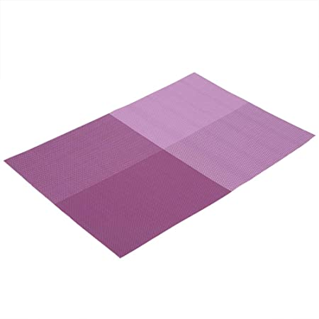 Manteles de mesa, tapetes de mesa rectangulares de 4 piezas para ...
