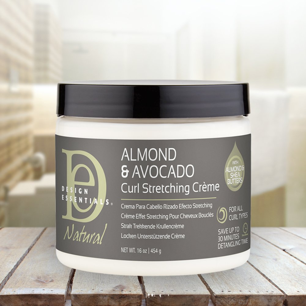 Amazoncom Design Essentials Natural Curl Stretching Crème To