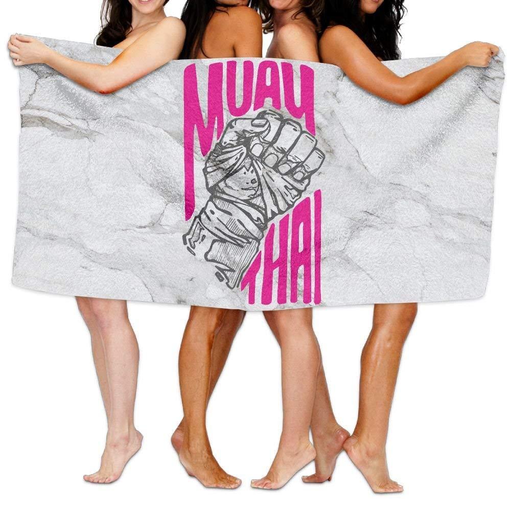 HONGYUDE Muay Thai 100% Polyester Velvet Absorbent Washcloths 31 X 51 inches