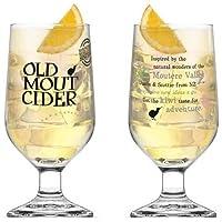 Old Mout Cider–Juego de 2vasos de pinta