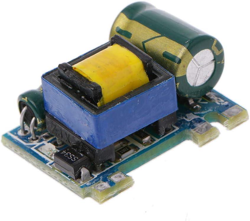 fivekim AC-DC 220V /à 5V 600Ma Module dalimentation abaisseur 3W Alimentation /à d/écoupage isol/ée