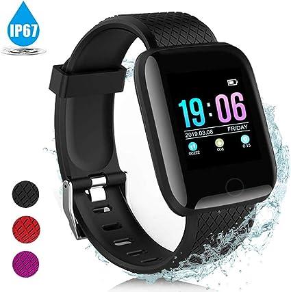AIGUO Pulsera Actividad Inteligente, Smart Watch, Pulsera ...