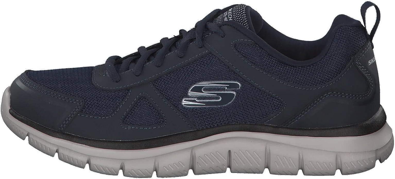Skechers Track-scloric 52631-nvy, Zapatillas para Hombre, Azul (Navy 52631/Nvy), 47.5 EU: Amazon.es: Zapatos y complementos