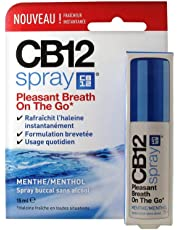 CB12 Oral Spray Without Alcohol Mint 15ml