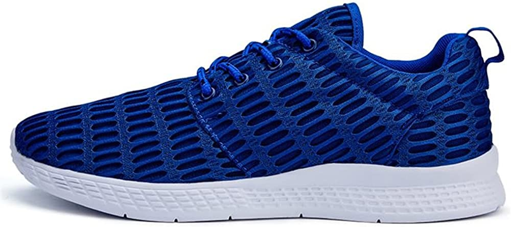 Lydianzishangwu Menshoes Mens Fashion Athletic Shoes Round Toe Solid Color Sports Sneaker Comfortable