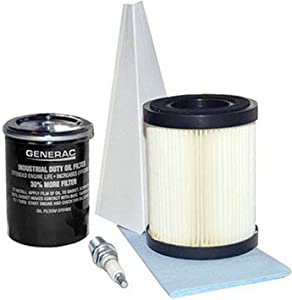 Generac Guardian 5662 Maintenance Kit for 8kW 410cc Air Cooled Generators (For HSB models prior to 2013)
