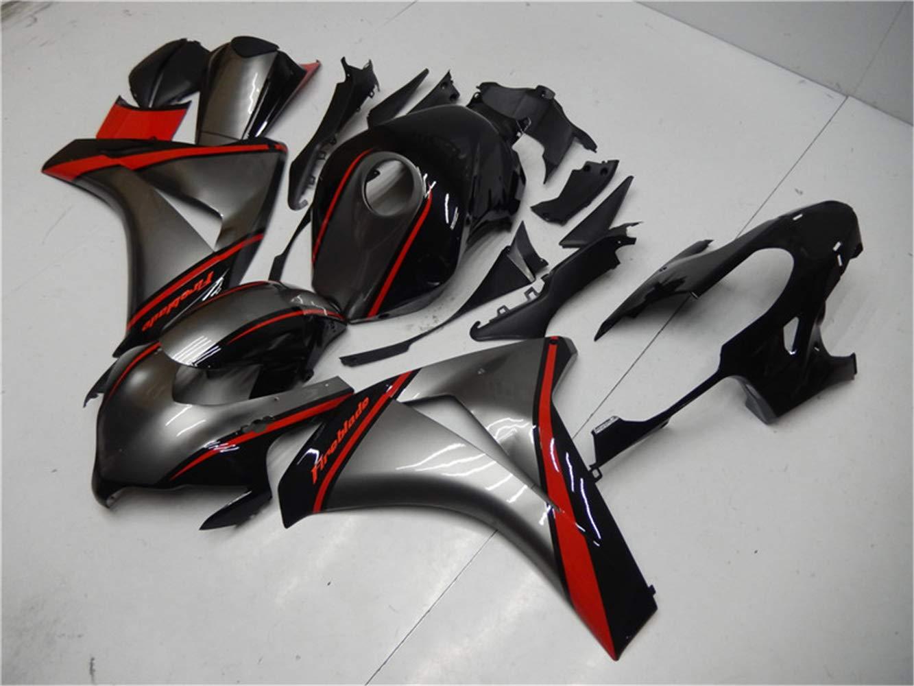 New Glossy Black Fairing Fit for HONDA 2008 2009 2010 2011 CBR1000RR CBR 1000RR Injection Mold ABS Plastics Aftermarket Bodywork Bodyframe Kit Set 08 09 10 11