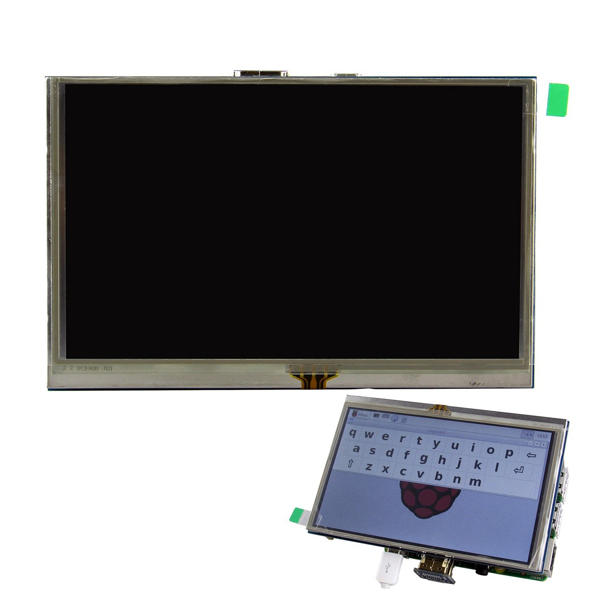 AVOLUTION 5 inch Deep Blue HDMI TFT LCD Touch Screen for Raspberry PI 3B w/Touch pen