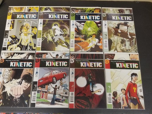 Kinetic #1-8 Full Set Complete Run Very Fine / Near Mint DC Comics LG1