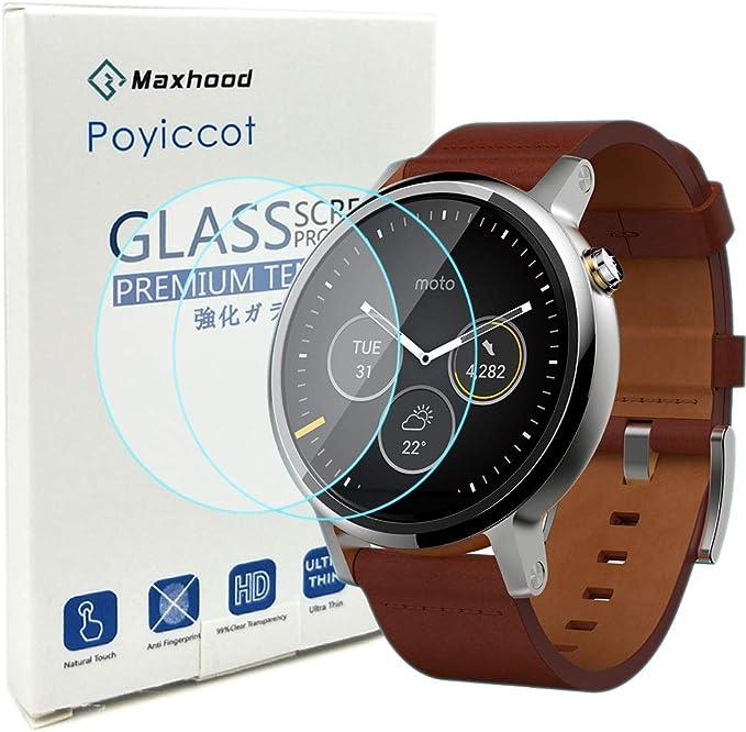 Motorola Moto 360 2nd Gen Smartwatch Protector de pantalla 46 mm ...