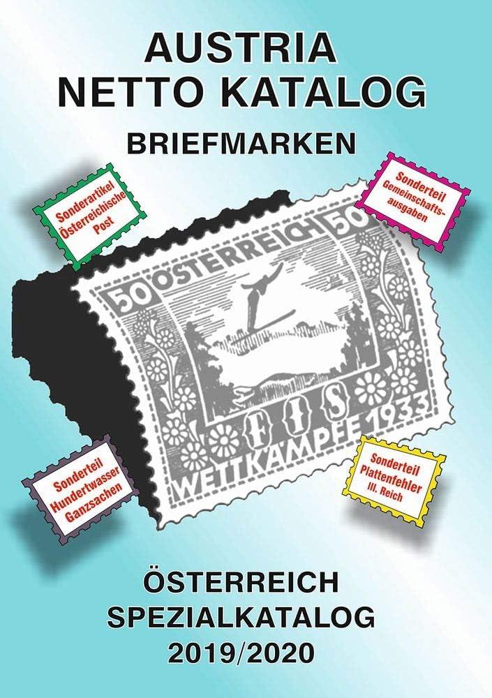 Ank Austria Netto Katalog Briefmarken Osterreich Spezialkatalog 2019 2020 Amazon De Spielzeug