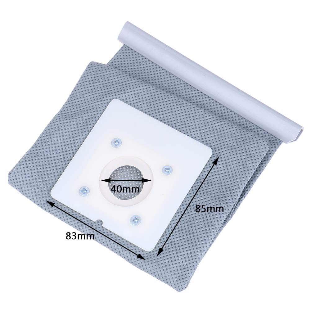 Diyiming 4Pack Reusable Non Woven Cloth Vacuum Cleaner Bag Numatic Hoover Washable Dust Bags