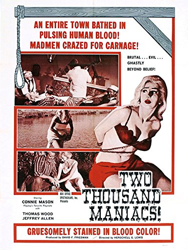 Amazon Com Two Thousand Maniacs Herschell Gordon Lewis Amazon Digital Services Llc