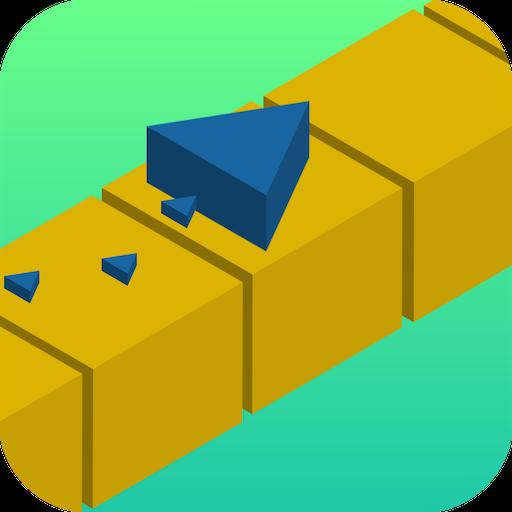 Shadow Blade Runner Hop Twist Over the Blocks Maze Free