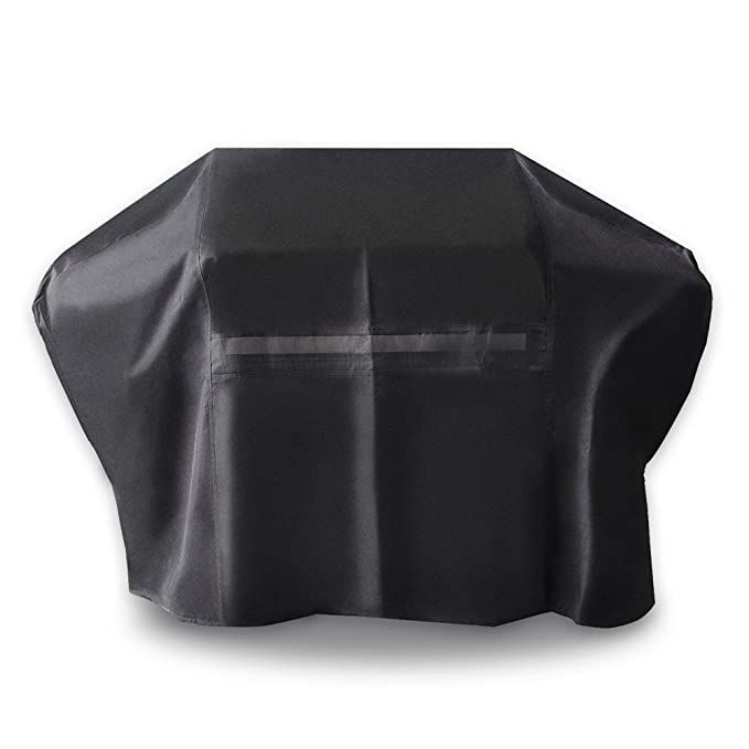 iCOVER BBQ Grill Cover - 60 inch Heavy Duty Barbeque Gas Grill Cover 600D Canvas Waterproof
