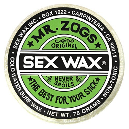 Mr. Zogs Original Sexwax - Cold Water Temperature Coconut Scented - Wax Hockey Stick