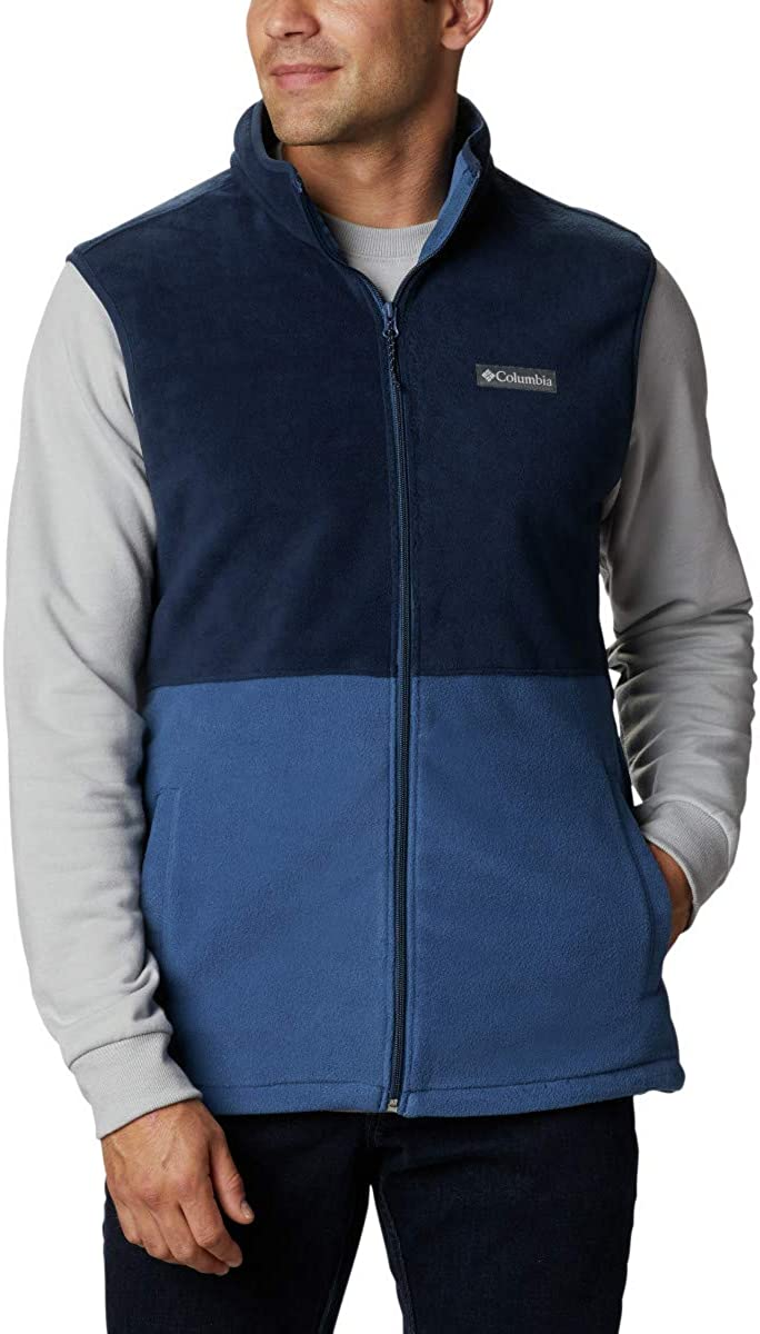 Columbia mens Basin Trail Fleece Vest