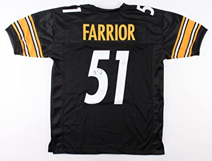 detailed look 862ba 78528 James Farrior #57 Signed Pittsburgh Steelers Jersey (TSE COA ...
