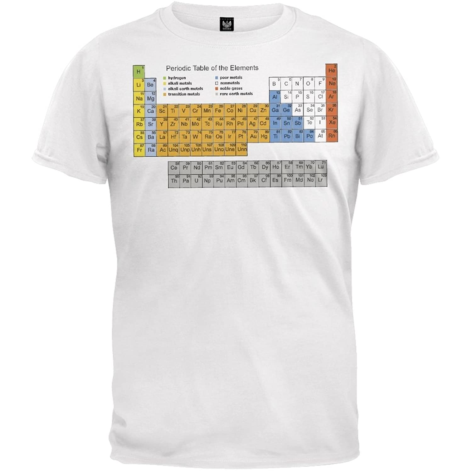 Amazon periodic table t shirt clothing gamestrikefo Image collections