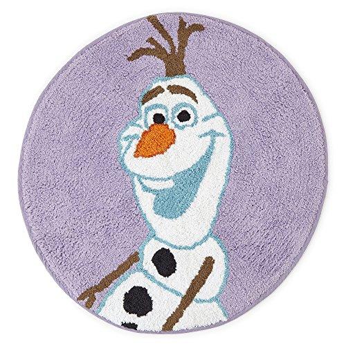 Disney Frozen Bath Rug Olaf Cotton Pile 24