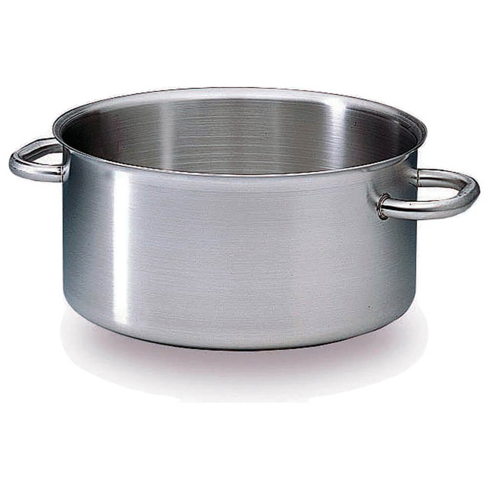 Matfer Bourgeat Excellence Casseroles without Lid, 15 3/4-Inch, Gray