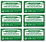 Dr. Bronner's Pure-Castile Bar Soap - Almond, 5 oz (6 Pack) (Health and Beauty)