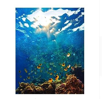Waofe ölgemälde Die Unterwasserwelt Diy Malen Nach Zahlen Kits