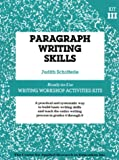Paragraph Writing Skills, Judith Schifferle, 0876286406