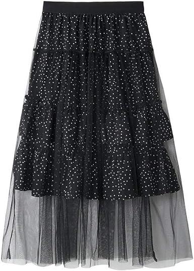 Qijinlook 💖 Faldas Tul Mujer Fiesta EleganteFalda de Malla de ...