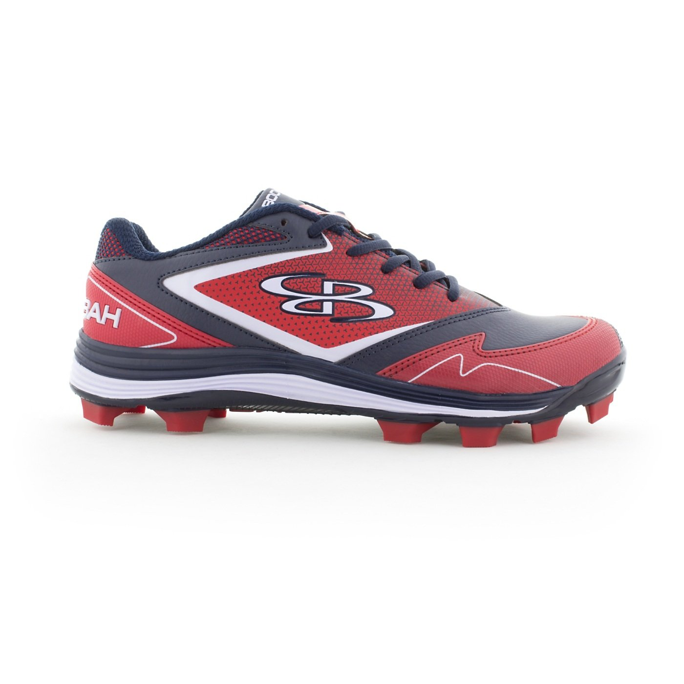 Boombah Women's A-Game Molded Cleats - 15 Color Options - Multiple Sizes