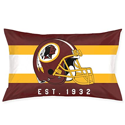 Swell Marrytiny Custom Rectangular Pillowcase Colorful Washington Redskins American Football Team Bedding Pillow Covers Pillow Cases For Sofa Bedroom Creativecarmelina Interior Chair Design Creativecarmelinacom