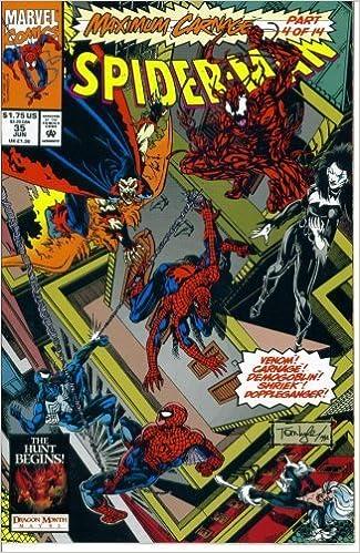 Amazon Com Spider Man 35 Team Venom Maximum Carnage Marvel