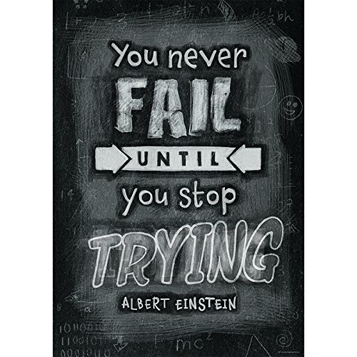- Creative Teaching Press Poster You Never Fail Until. Inspire U Poster (6699)