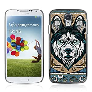 Designer Depo Hard Protection Case for Samsung Galaxy S4 / Cool Wolf