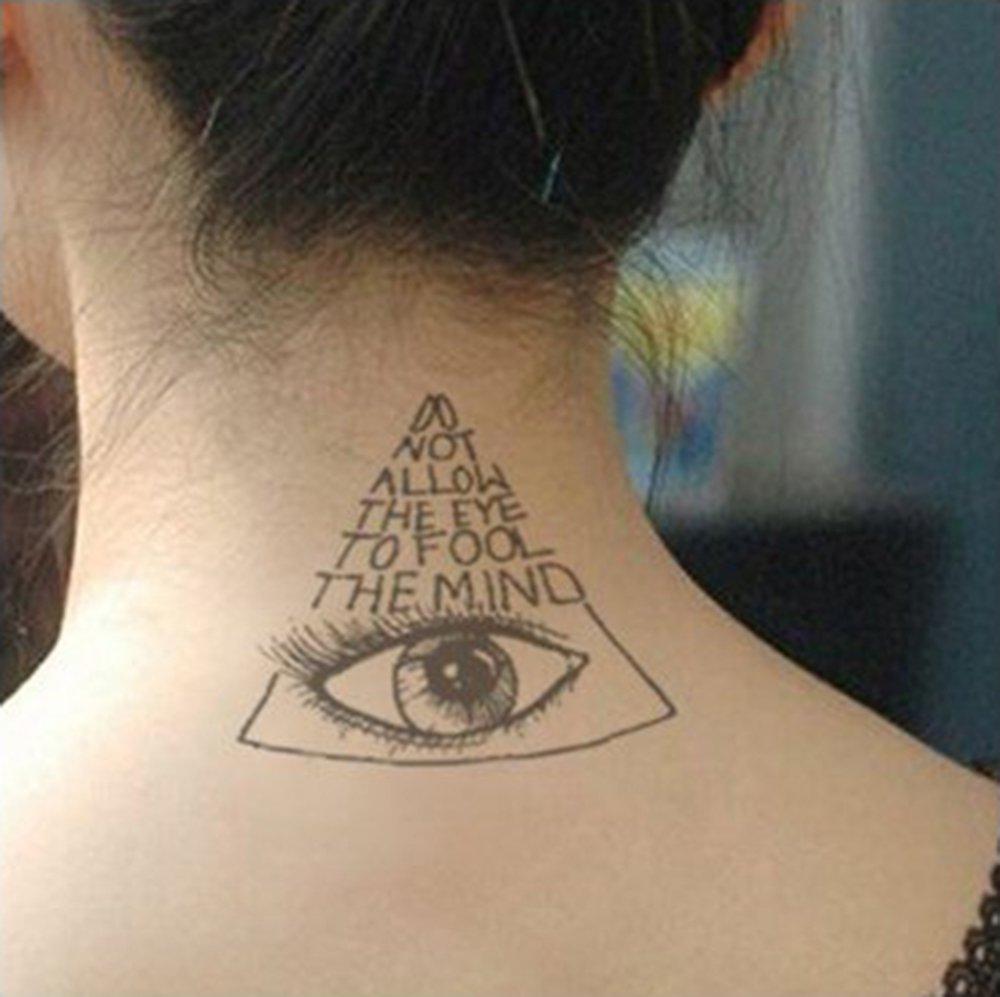 COKOHAPPY 5 Hoja Temporales Tatuaje - Woodpecker Lamp Shark ...