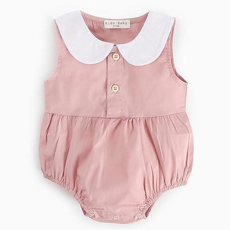 Subfamilia, ropa para niñas recién nacido bebé niño niña verano impresión pelele ropa simple puro