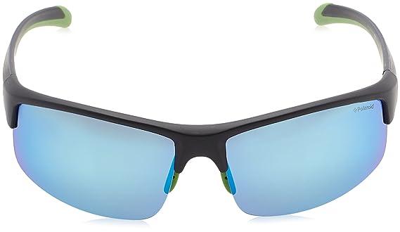 Polaroid Sport Sonnenbrille PLD 7019/S 5X BLACK GREEN, 70