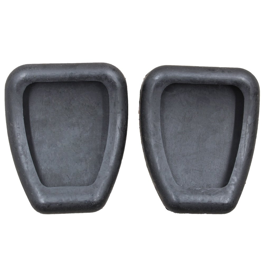 koauto 2 Brake or Clutch Pedal Pad Cover For Ford Mustang F4ZZ-2457-A