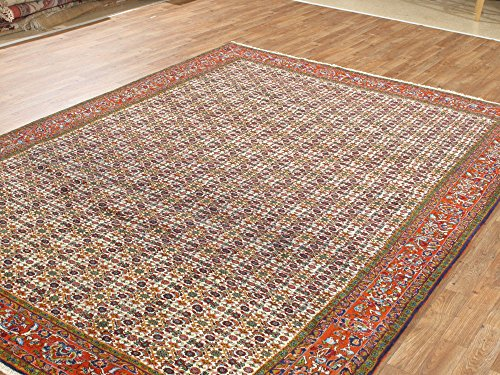 Bidjar Persian Oriental Area Rug (NYC Rugs New 8X10 Wool Hand Knotted 6'9 X 9'5 Fine Persian Bidjar Carpet)