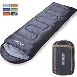 CERTAMI Sleeping Bag -Envelope Lightweight Portable Waterproof,for Adult 3 Season Outdoor Camping Hiking.