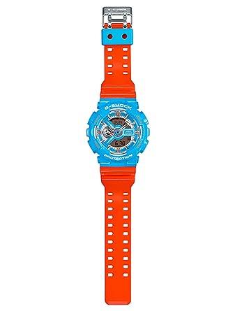 Amazon.com: Casio G-Shock Neo Color Pop Serie Azul y Naranja ...