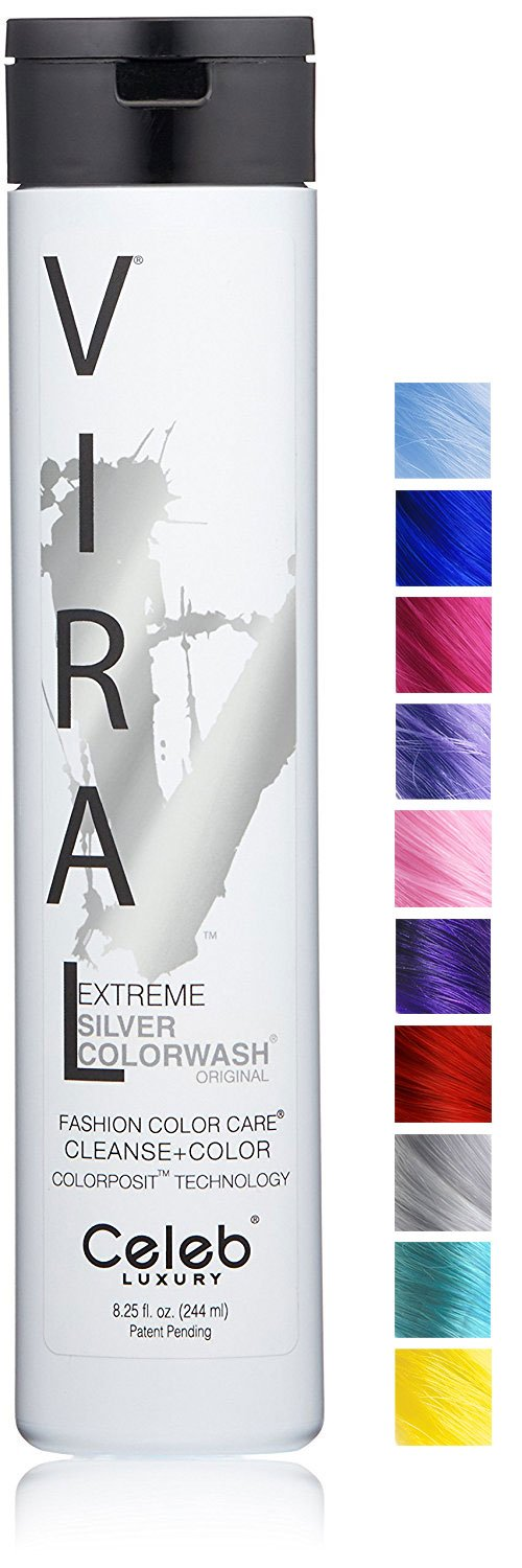 Viral Extreme Silver Colorwash, 8.25oz
