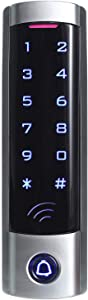 UHPPOTE Touch Access Control Keypad with Wiegand 26-bit Interface Support 2000 Users for 125khz RFID Card