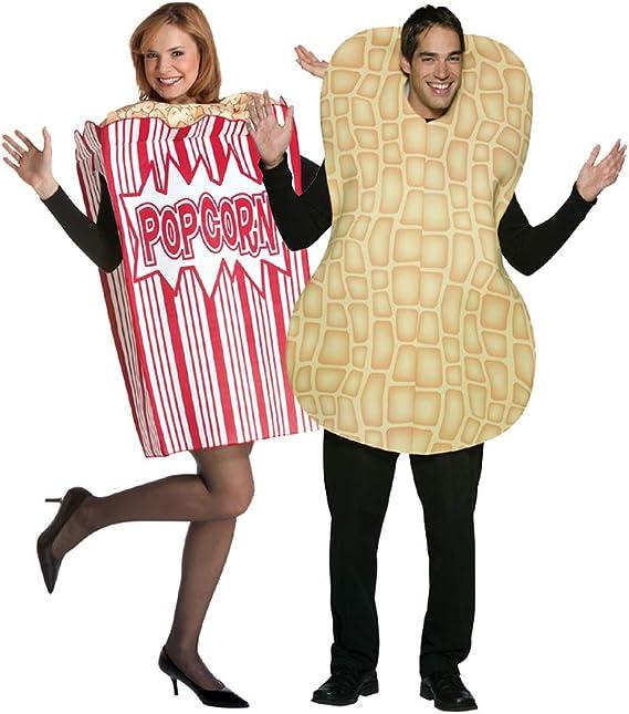 Future Memories Set de Disfraz de Palomitas de maíz y Cacahuete ...