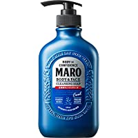 MARO Body & Face Cleansing Soap, 400ml, Cool