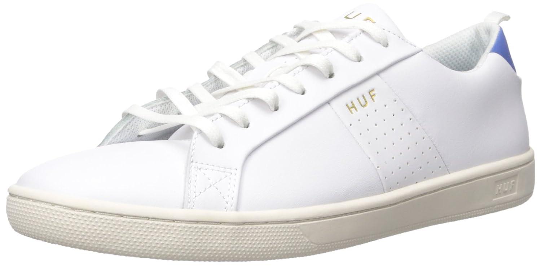 HUF Men's Boyd Skateboarding Shoe 10 D(M) US|Vintage White/Royal