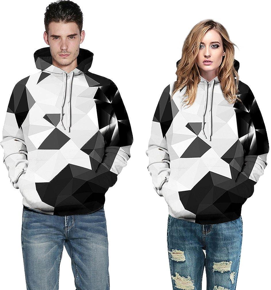 1d5349e939bc FLYCHEN Men's Digital Print Sweatshirts Hooded Top Galaxy Pattern Hoodie  Gradual Black Crystal 2XL/3XL: Amazon.in: Clothing & Accessories
